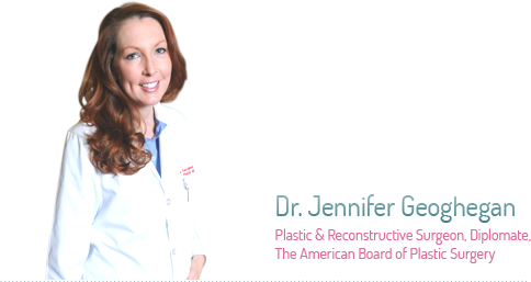 Dr. Jennifer Geoghegan - Plastic and Reconstructive Surgeon, Diplomate. The American Board of Plastic Surgery
